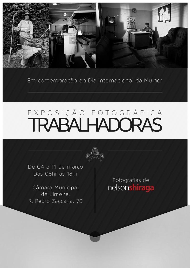 Exposição fotográfica TRABALHADORAS