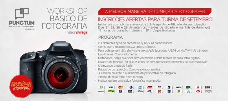 Workshop Básico de Fotografia | Setembro de 2013