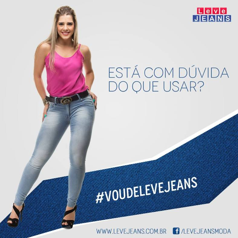 Lookbook para Leve Jeans