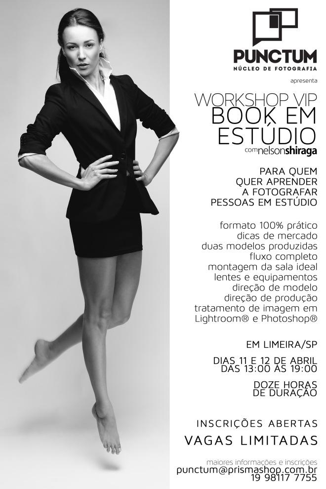 Workshop VIP Book em Estúdio