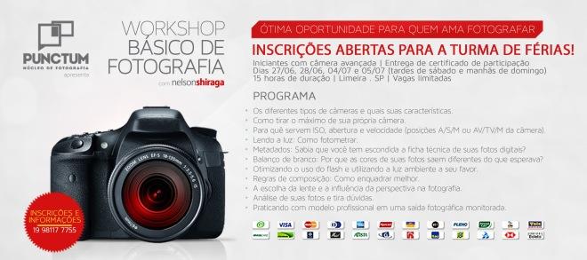 Workshop Básico de Fotografia